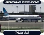Tajik Air Boeing 757-200 - EY-751