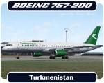 Turkmenistan Boeing 757-200 - EZ-A011