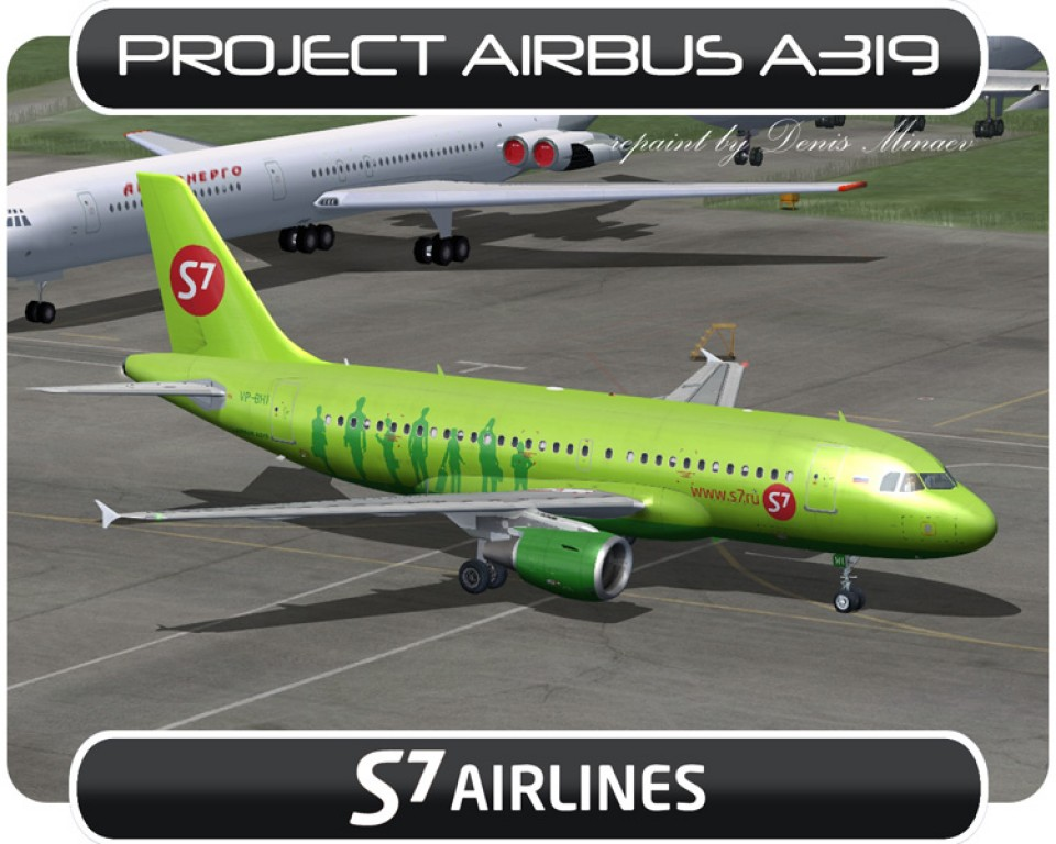 S7 Airlines Airbus A319 - VP-BHI