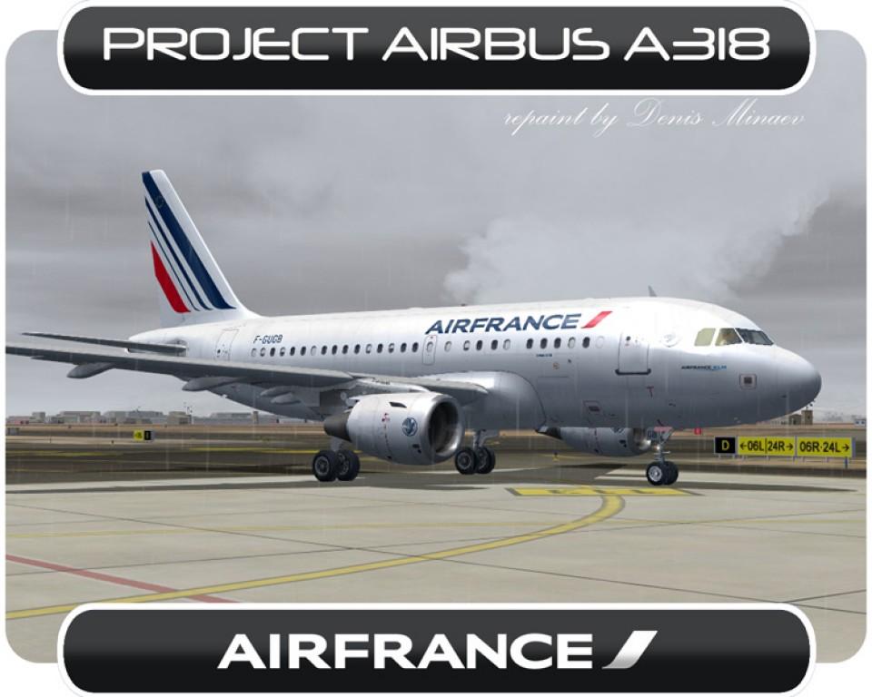Air France Airbus A318 - F-GUGB