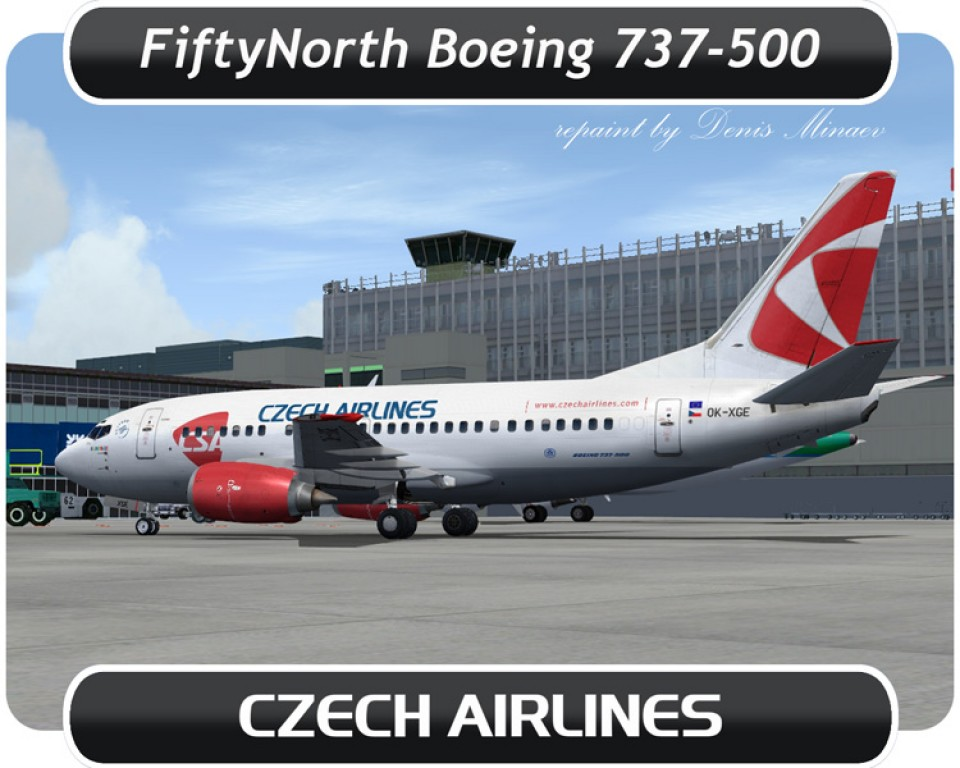 Czech Airlines Boeing 737-500 - OK-XGE