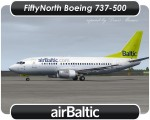 Air Baltic Boeing 737-500 - YL-BBE