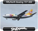 SkyExpress Boeing 737-500 - VP-BFN