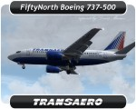 Transaero Boeing 737-500 - VP-BPD
