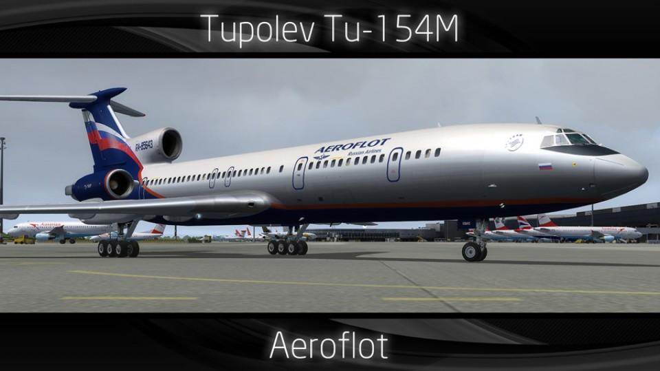Aeroflot Tupolev Tu-154M - RA-85643