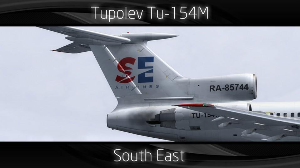 South East Tupolev Tu-154M - RA-85744