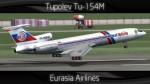 Eurasia Airlines Tupolev Tu-154M - RA-85840