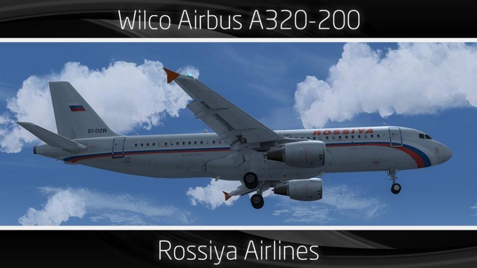 Rossiya Airbus A320-200 - EI-DZR
