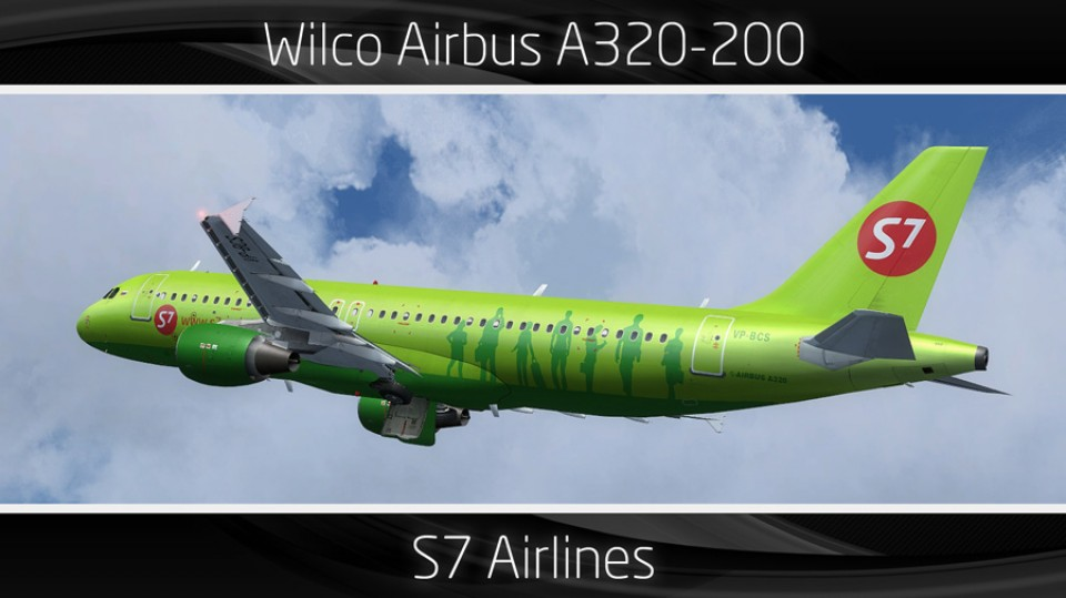 S7 Airlines Airbus A320-200 - VP-BCS