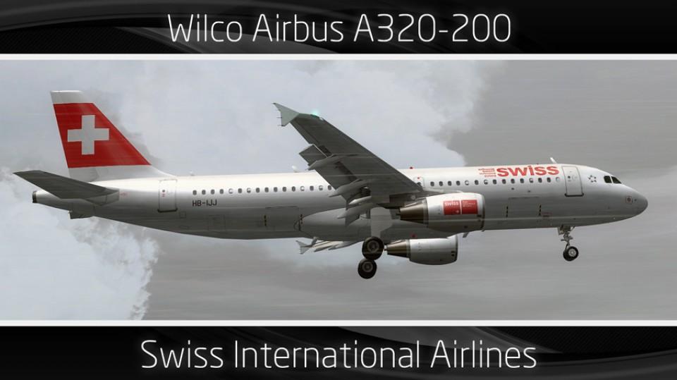 Swiss Airbus A320-200 - HB-IJJ