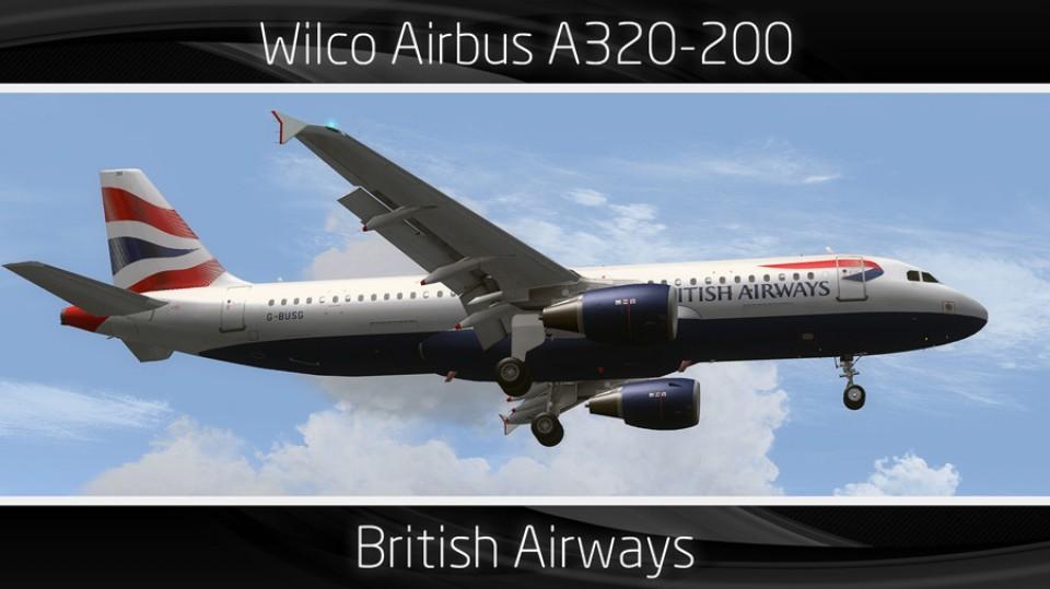 British Airways Airbus A320-200 - G-BUSG