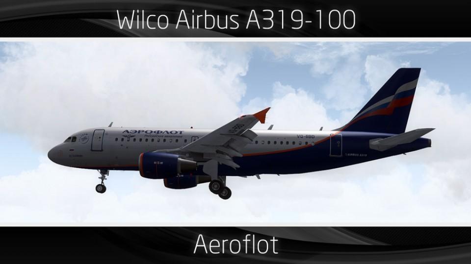 Aeroflot Airbus A319 - VQ-BBD