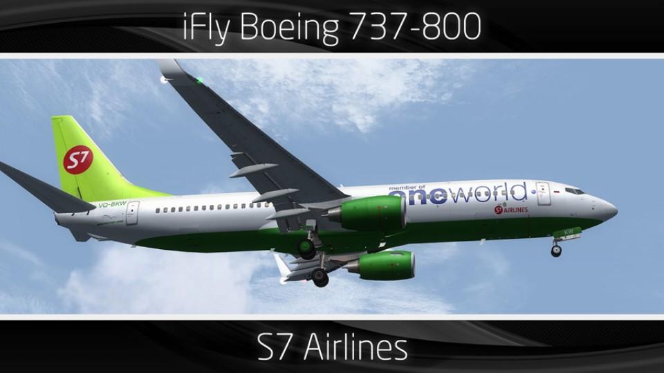 S7 Airlines Boeing 737-800 - VQ-BKW