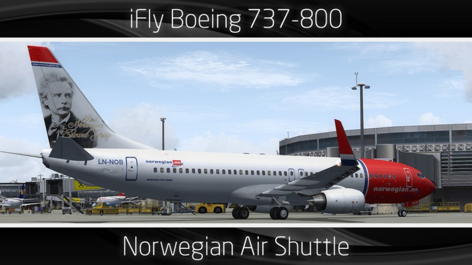 Norwegian Air Shuttle Boeing 737-800 - LN-NOB