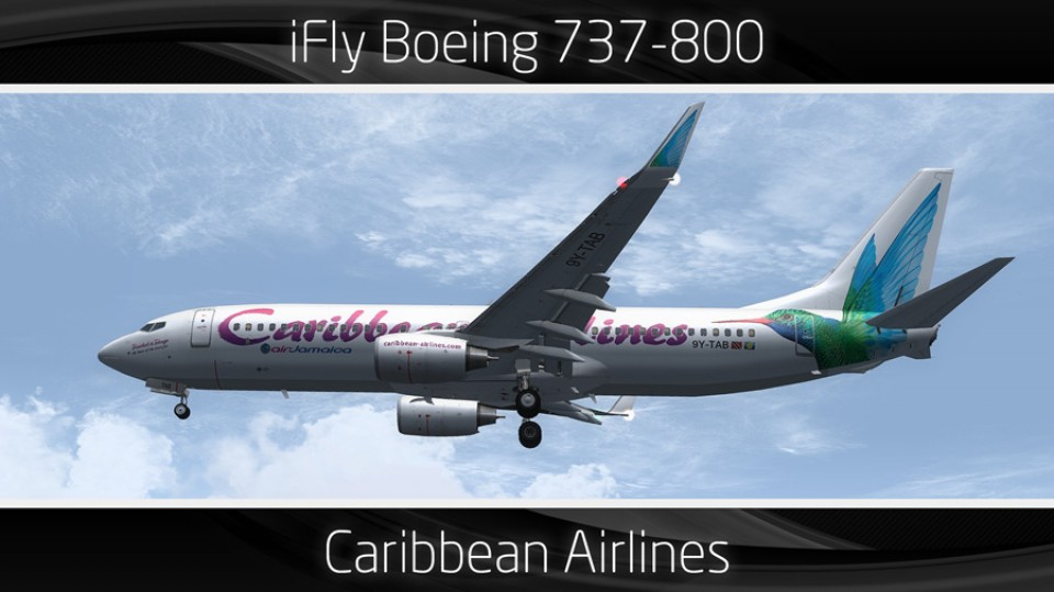 Caribbean Airlines Boeing 737-800 - 9Y-TAB