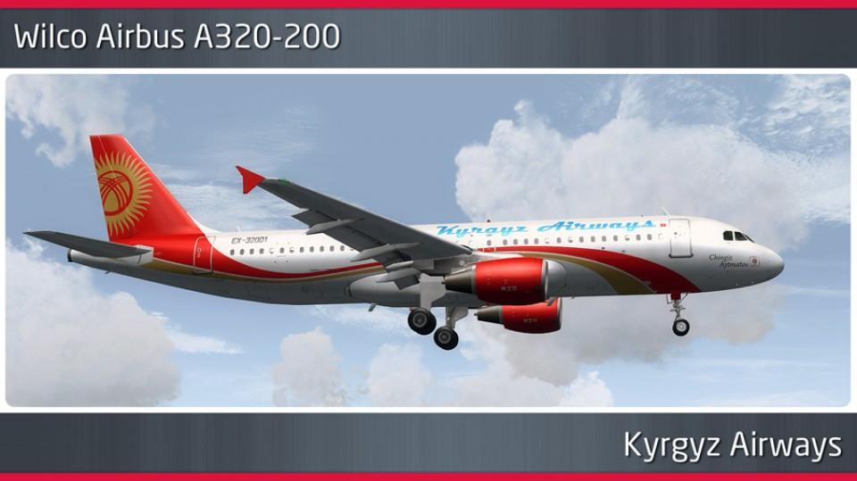 Kyrgyz Airways Airbus A320-200 - EX-32001