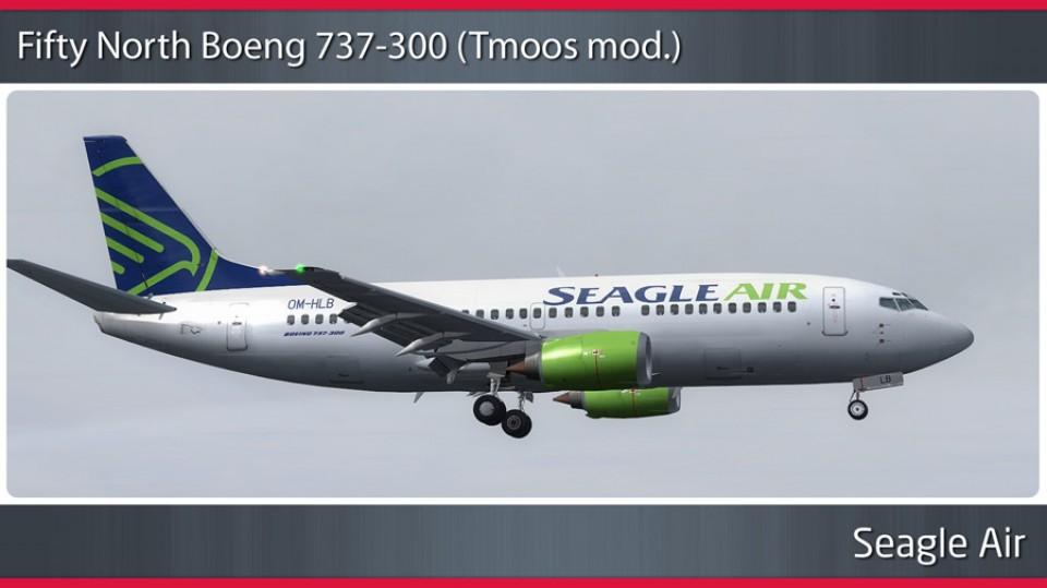 Seagle Air Boeing 737-300 - OM-HLB