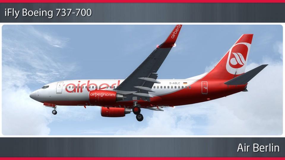 Air Berlin Boeing 737-700 - D-ABLC