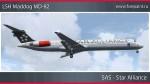 SAS McDonnell Douglas MD-82 - OY-KHE