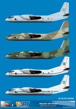Ukraine Air Force Antonov AN-26