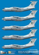 Ukraine Air Force - 25 Transport Air Brigade IL-76MD