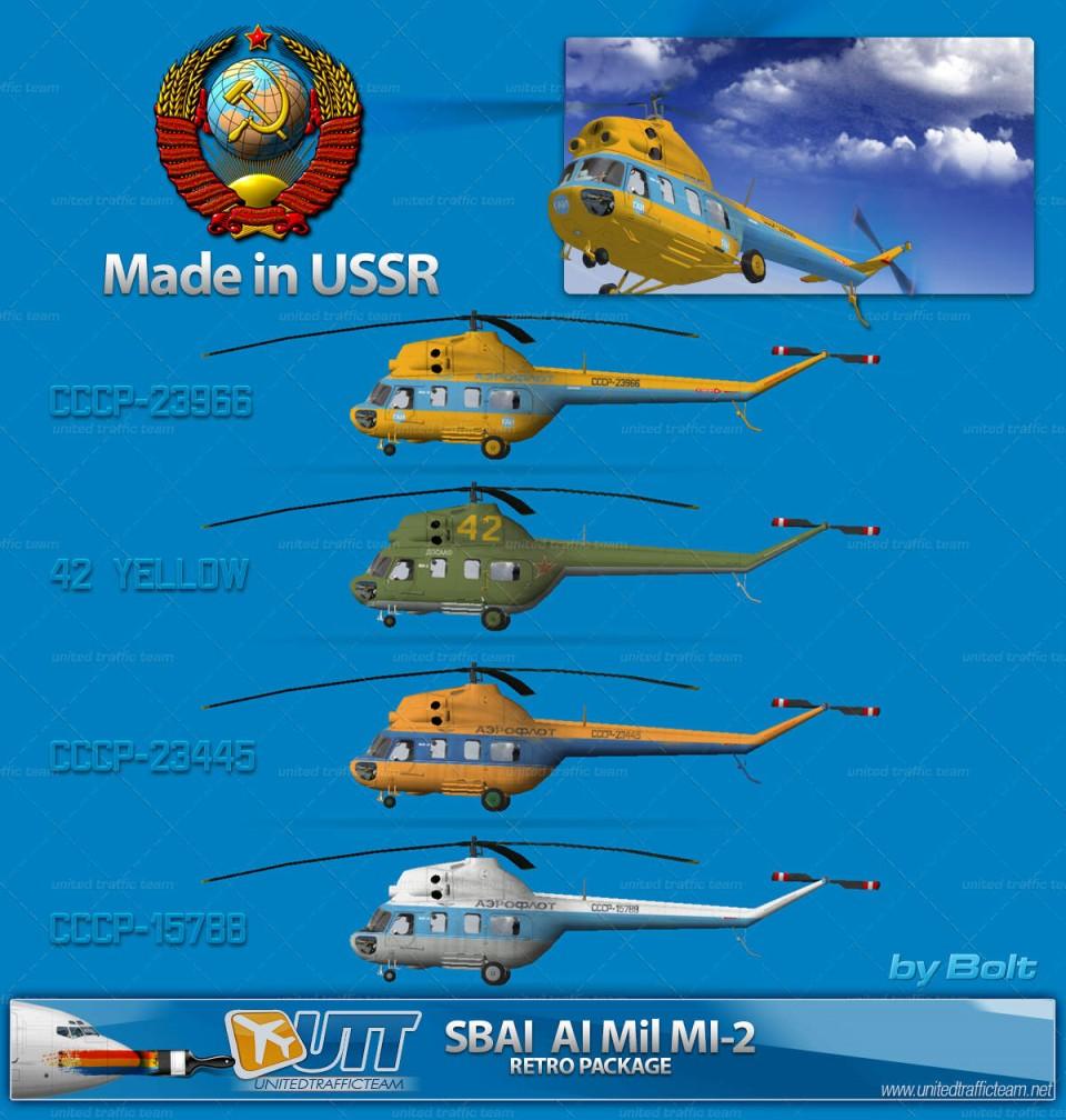 SBAI MI-2 USSR Retro Pack