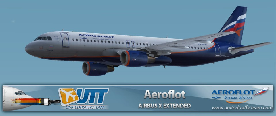 Airbus X Extended A320 Aeroflot VQ-BCM