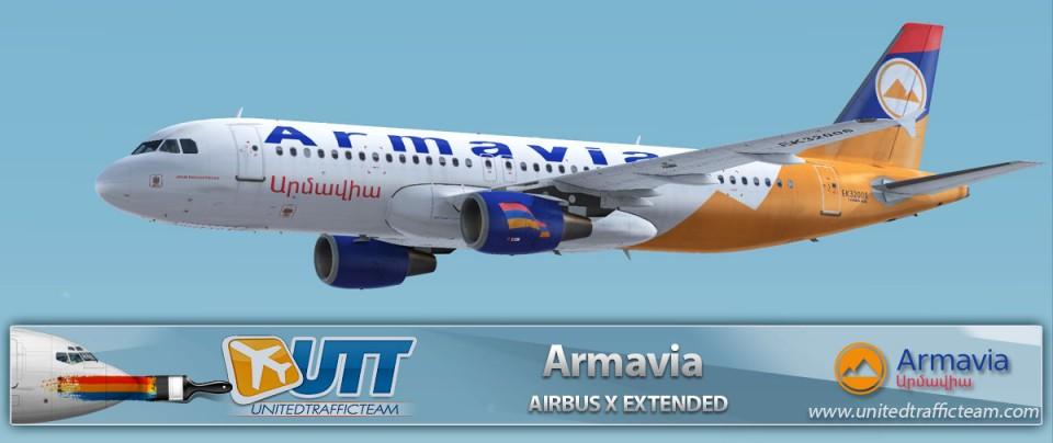 Airbus X Extended A320 Armavia EK32008
