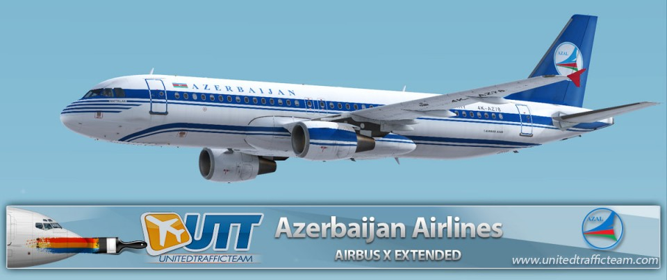 Airbus X Extended A320 Azerbaijan Airlines 4K-AZ78