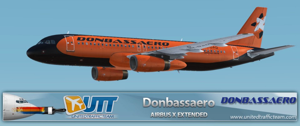 Airbus X Extended A320 Donbassaero UR-DAD
