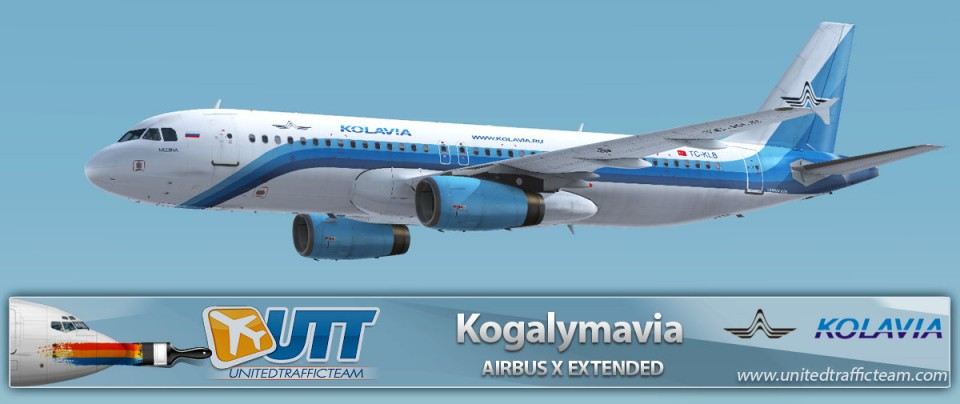 Airbus X Extended A320 Kogalymavia TC-KLB