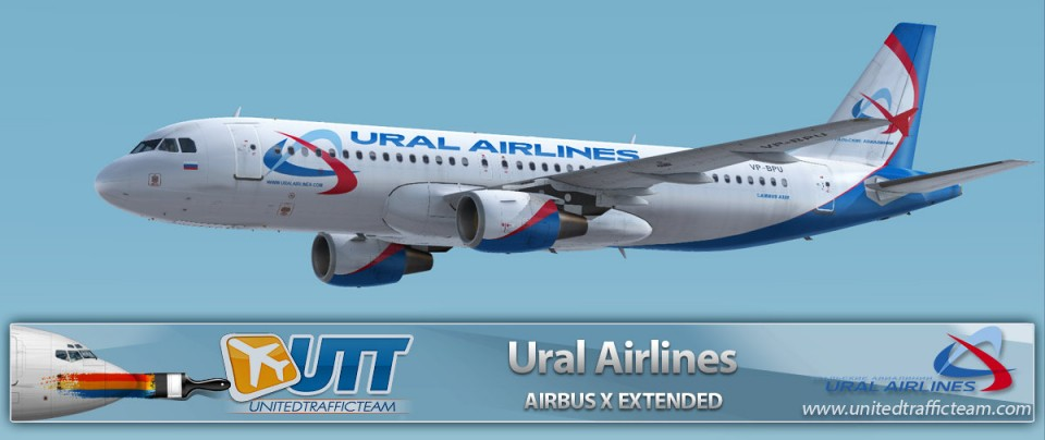 Airbus X Extended A320 Ural Airlines VP-BPU