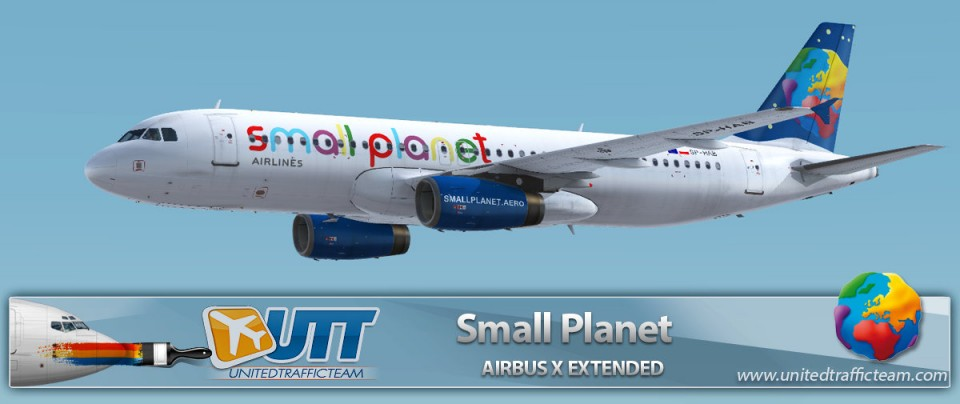 Airbus X Extended A320 Small Planet SP-HAB