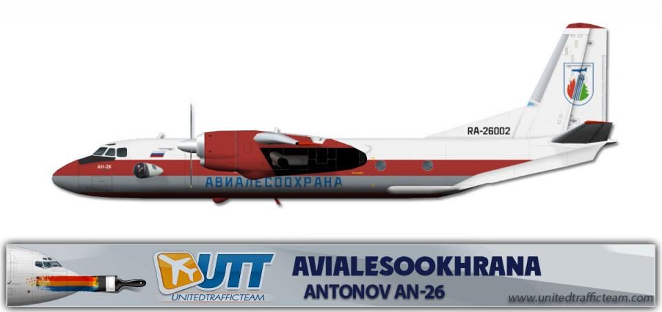 AVIALESOOKHRANA An26 RA-26002