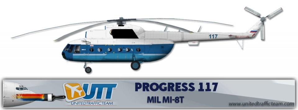 Progress 117 Mil Mi-8T