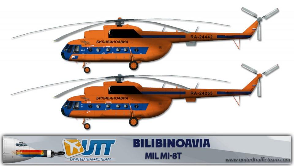 Bilibinoavia Mil Mi-8T