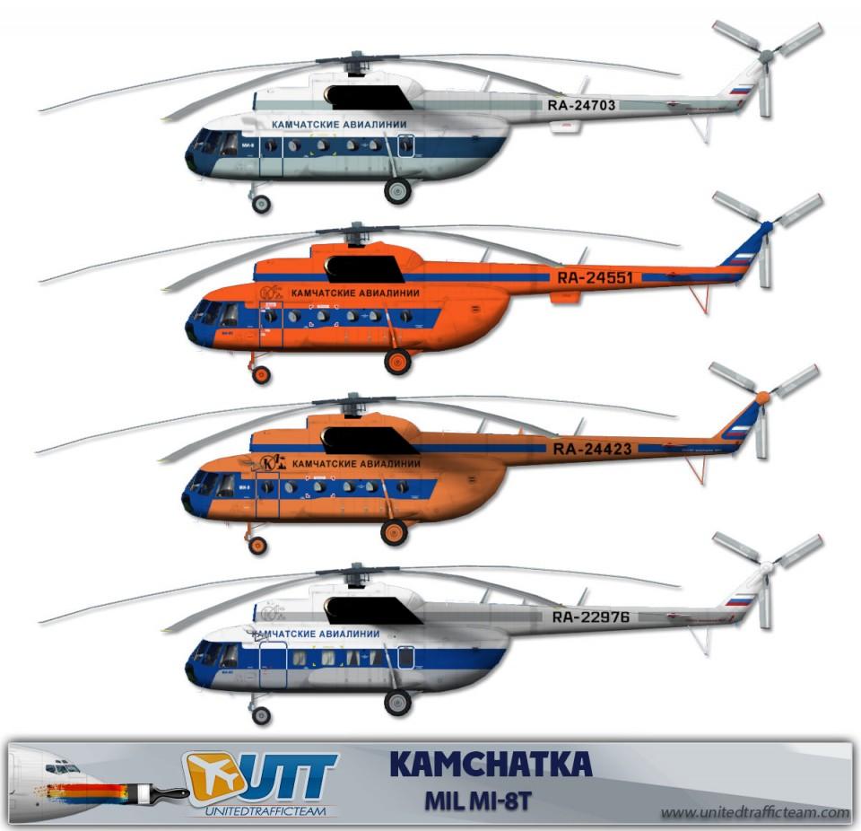 KAMCHATKA Mil Mi-8T