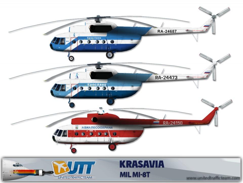 Krasavia Mil Mi-8T