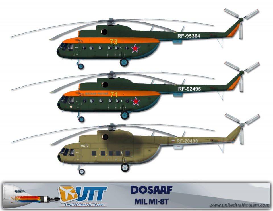 DOSAAF Mil Mi-8T