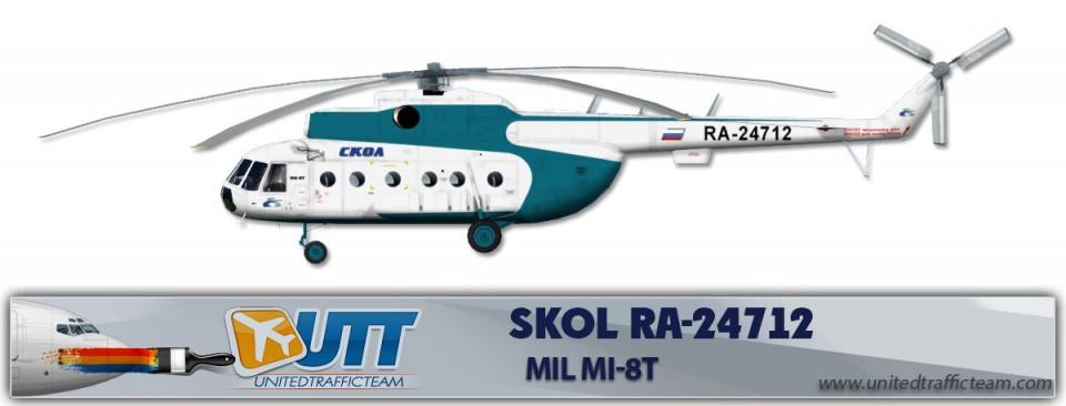 SKOL RA-24712 Mil Mi-8T