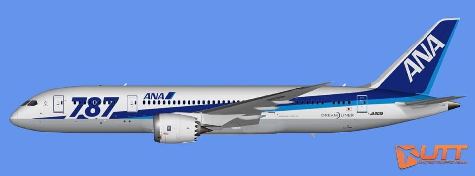 ANA Boeing 787-8 Dreamliner Pack (FSX,Prepar3D)