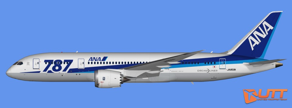 All Nippon Airways Boeing 787-8 Dreamliner Pack