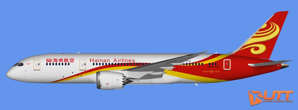 Hainan Airlines Boeing 787-8