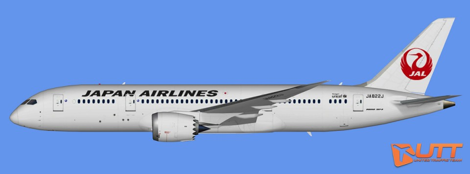 Japan Airlines Boeing 787-8 Dreamliner (FSX,Prepar3D)