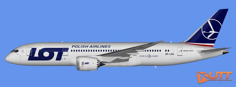 LOT Polish Airlines Boeing 787-8 Dreamliner (FSX,Prepar3D)