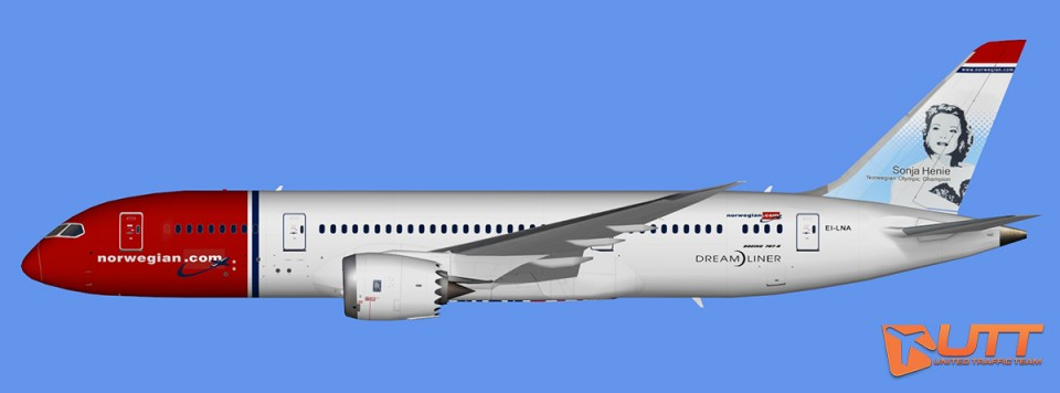 Norwegian Air Boeing 787-8 Dreamliner (FSX,Prepar3D)