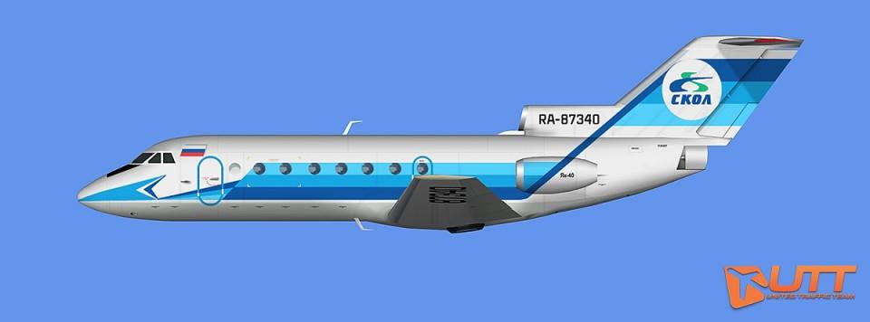 Skol Yakovlev Yak-40 (RA87340)