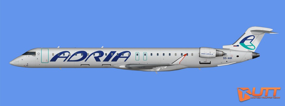 Adria Airways CRJ-900 (FSX)