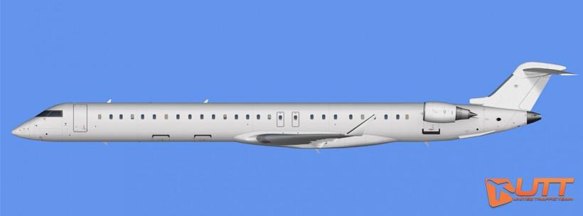 UTT AI Bombardier Canadair CRJ-1000 model