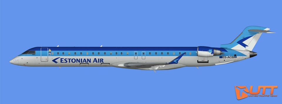 Estonian Air CRJ-900 (FS2004)